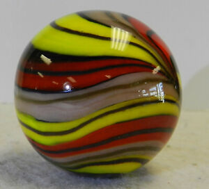#12968m Handmade Contemporary Marble With Lutz 1.47 Inches