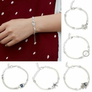Crystal bracelet necklace with coins. Chain bracelet silver