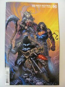 Dark-Nights-Death-Metal-1-DC-Comic-2020-Series-Finch-Variant-9-6-Near-Mint