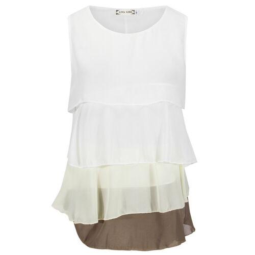 DE Damen Hohle Minikleider Sommer Strand Shirts Ärmellos Tops Lässig Longbluse D