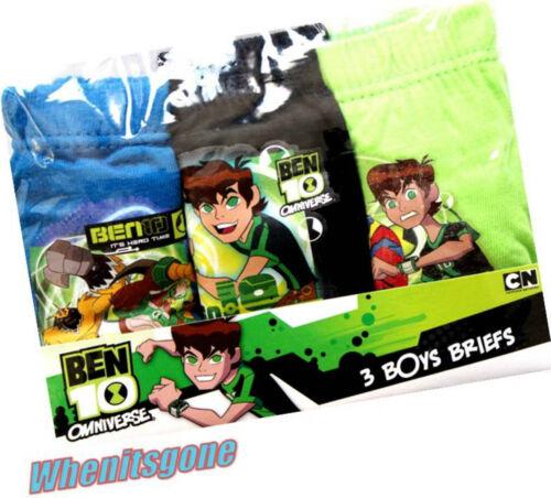 Boys//girls 3 pack  character pants Avengers briefs Ben10