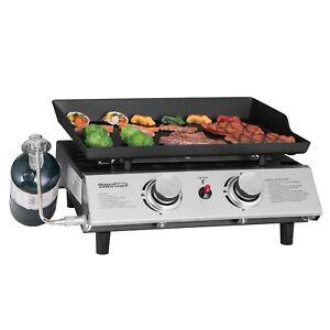 Royal-Gourmet-BBQ-Propane-Gas-Grill-2-Burner-Tabletop-Camping-Portable-PD1201