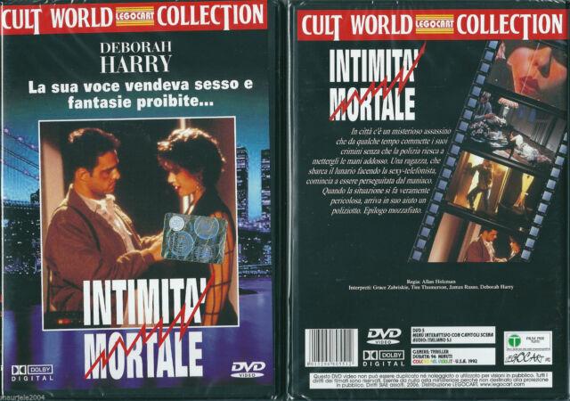Intimita Mortale (1992) DVD NUOVO SIGILLATO Deborah Harry James Russo. Zabriskie