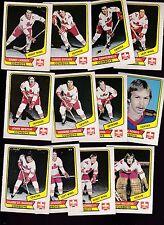 1976 O-PEE-CHEE WHA Team SET Lot of 12 Calgary COWBOYS NM OPC LAWSON LEMIEUX