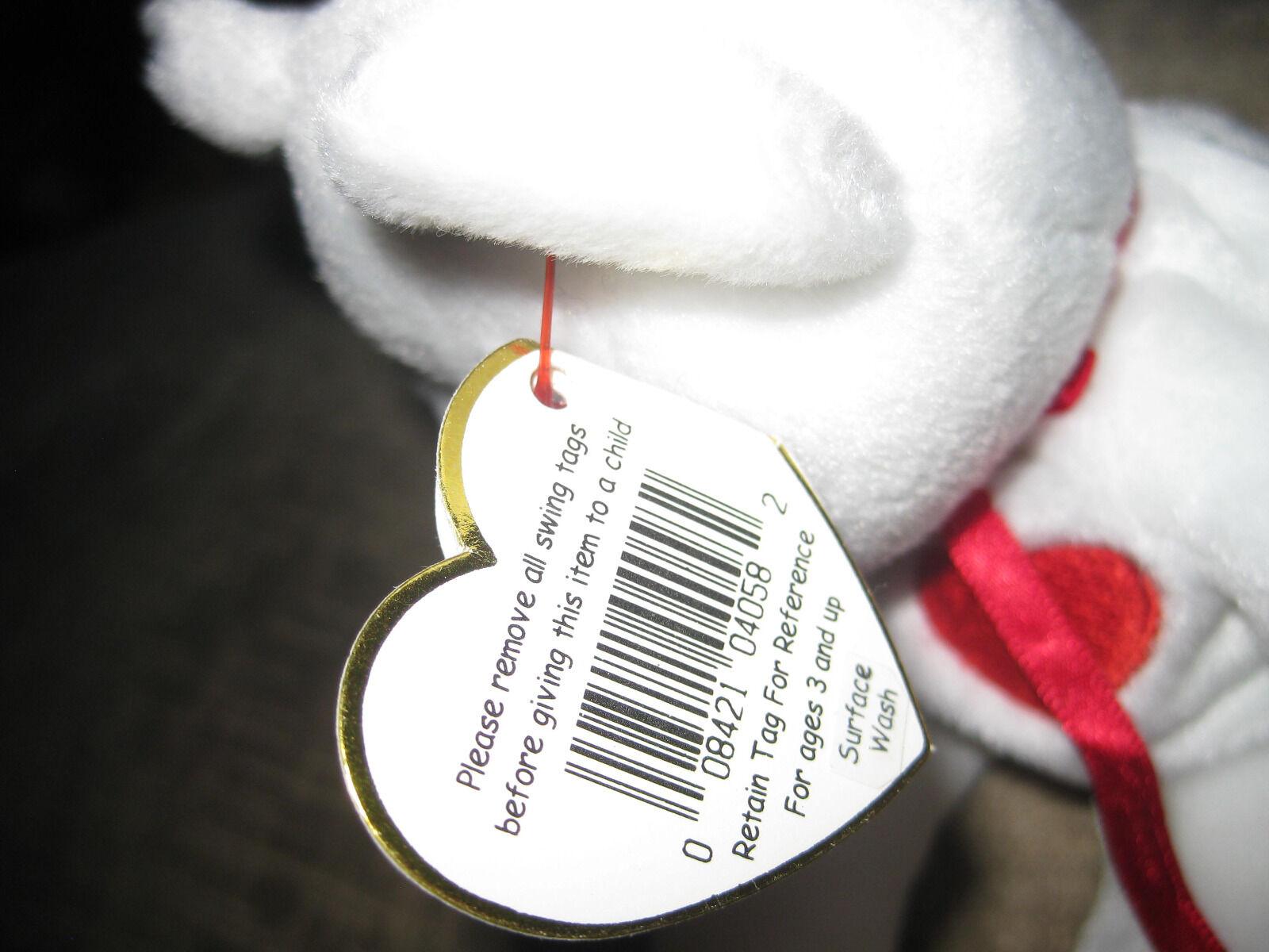 Ty Beanie Valentino Valentino Valentino Tag Errors e38166