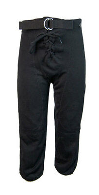Alleson Athletic Tie-fly Pantaloni Pantaloncini Da Football Americano-nero (gioventù L)-mostra Il Titolo Originale