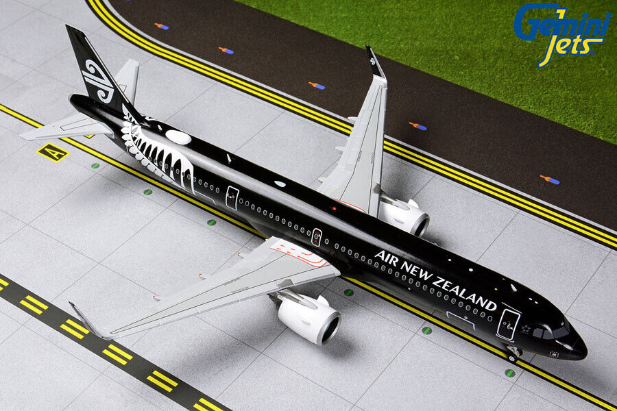 Gemini Jets 1 200 Air Air New Zealand Airbus A321neo ZK-NNA G2ANZ801 IN STOCK