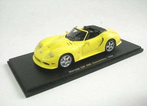 Marcos LM 500 converdeible (amarillo) 1996