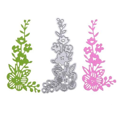 Flower Metal Cutting Dies Stencil Scrapbooking Embossing DIY Paper Card Decor