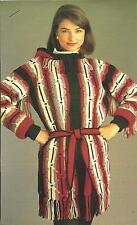 *Lady's Navajo Coat crochet PATTERN INSTRUCTIONS