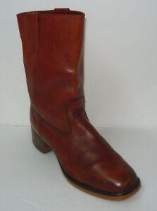 Vintage Braun Genuine Leder campus Stiefel Sz Sz Stiefel 11     6dd1ad