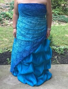 Details about Plus Size Prom Dress Size 22