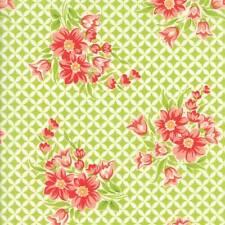 Moda HANDMADE Green 55146 14 Fabric By The Yard By Bonnie & Camille
