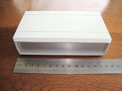 Hobby Project Plastic Aluminium Box Case for Electronics. NEW, not diecast ali.