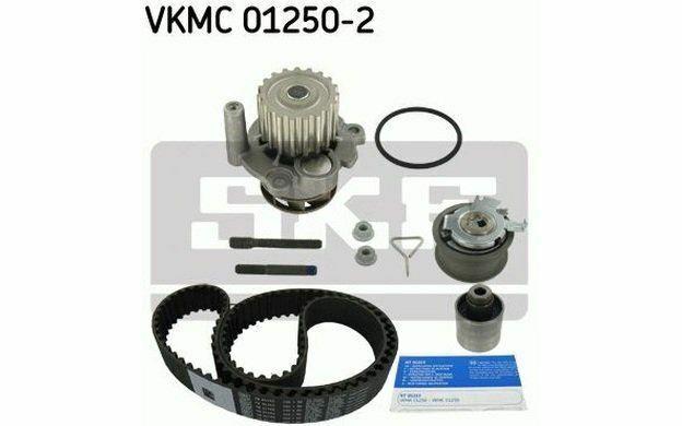 SKF Kit de distribution avec pompe à eau pour VOLKSWAGEN GOLF POLO VKMC 01250-2
