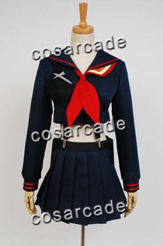 KILL La KILL Ryuko Ryuuko Matoi Senketsu Suit Cosplay Costume Outfit Uniform