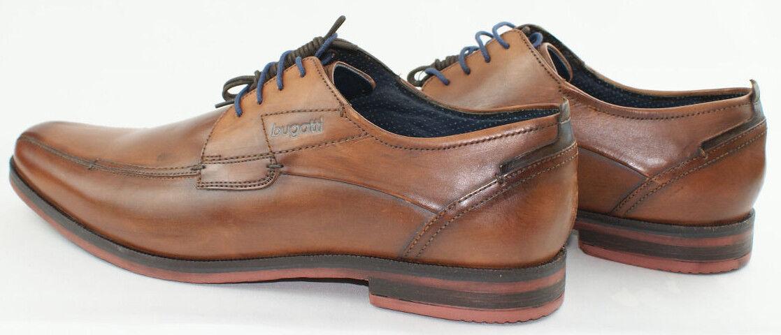 Bugatti Vico Evo City et Affaires Chaussure Couleur Cognac Taille 45     77