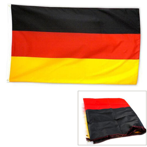 Fahne DEUTSCHLAND 90x150 cm NEU /& OVP Flag Germany 90 x 150 Flagge^ Z8S8
