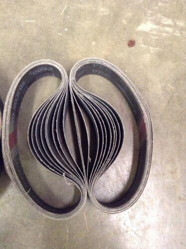 """Silicon Carbide 50 1.5/""""x 18/""""//19/"""" 600 Grit Sanding Belts"""