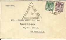 Malaya STRAITS SETTLEMENTS-SG#293,#284-SINGAPORE 1/AP/1940-WWII