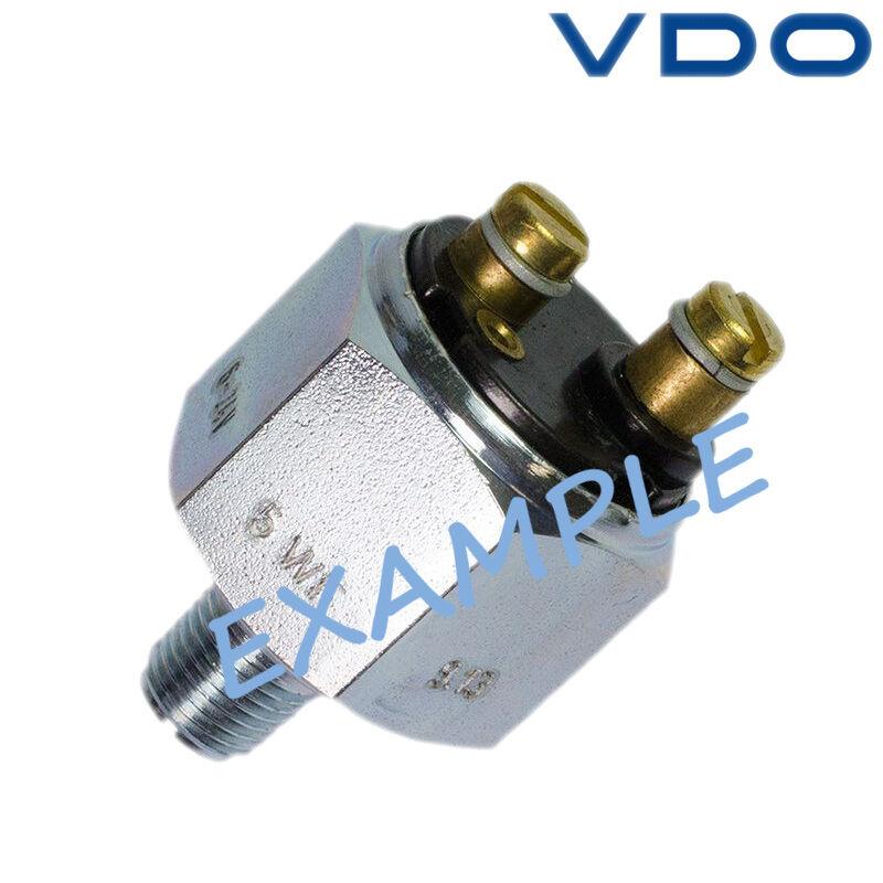 VDO Öldruckschalter Stiefel Marine 12bar 2-polig 230-112-005-001C