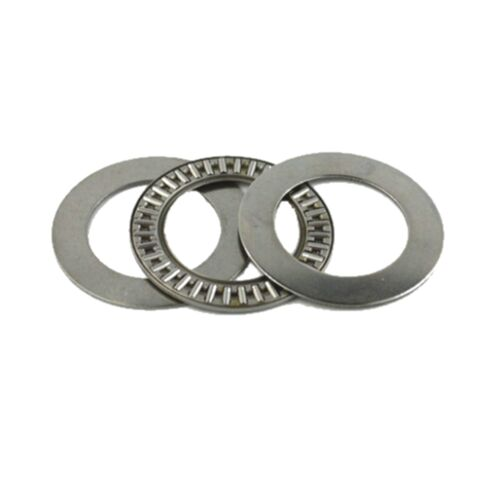 5pcs 4x14x2mm AXK0414TN Thrust Needle Roller Bearing ABEC-1 Each With Two Washer