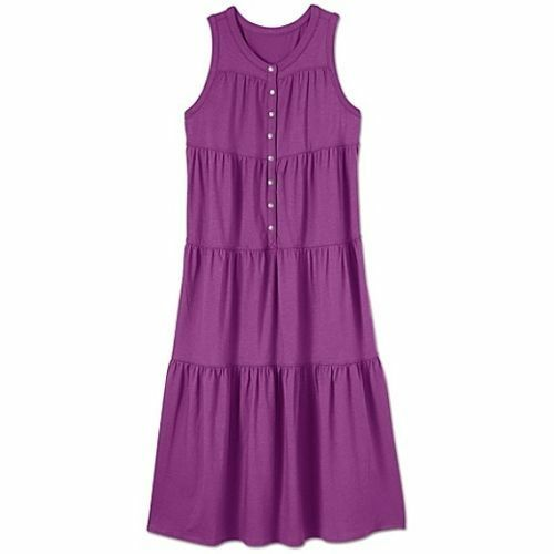 Athleta Women/'s Purple Drop In Dress Size M