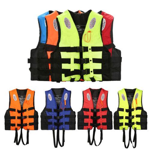 Rettungsweste Schwimmweste Erwachsene Kinder Schwimmhilfe Auftriebshilfe25-110kg