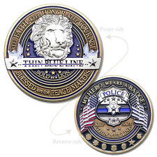 4 Coins - Law Enforcement Appreciation Challenge Coin · Police Thank You