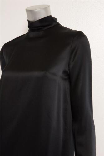 Seta Donna Lupetto Vince Tubino Collo Nero Xs Camicia 3 Da A Vestito 4 sleeve qaYxgFtn