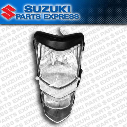 NEW 2003-2008 SUZUKI LT-Z400 LTZ 400 Z400 OEM HEADLIGHT LAMP ASSEMBLY WHITE