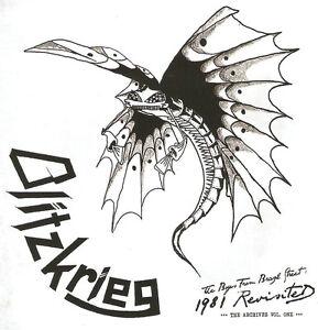 Blitzkrieg-The-Boy-039-s-From-Brazil-Street-Vol-I-2014-CD-Metallica-NWOBHM