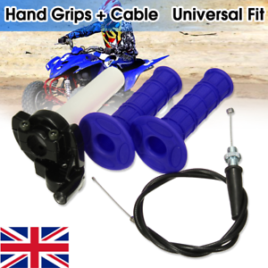 Pit-Dirt-Bike-Quick-Action-Throttle-Grip-Twist-Cable-90-110cc-125cc-PITBIKE-ATV