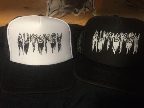 Autopsy Hat death napalm death repulsion terrorizer diecide sadus slayer hirax