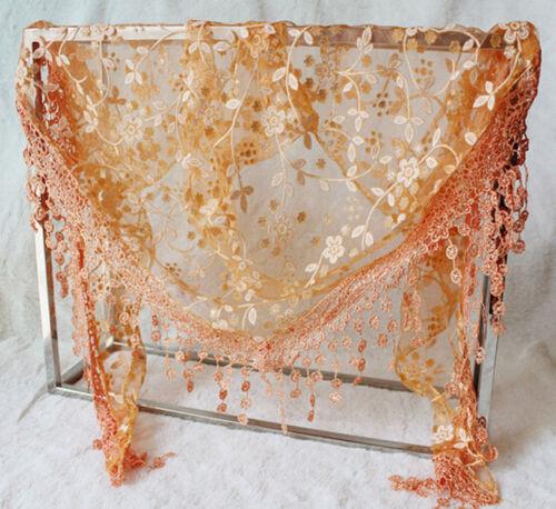 Women Pretty Long Soft Chiffon Ladies Scarf Wrap Voile Shawl Stole Scarves Gift
