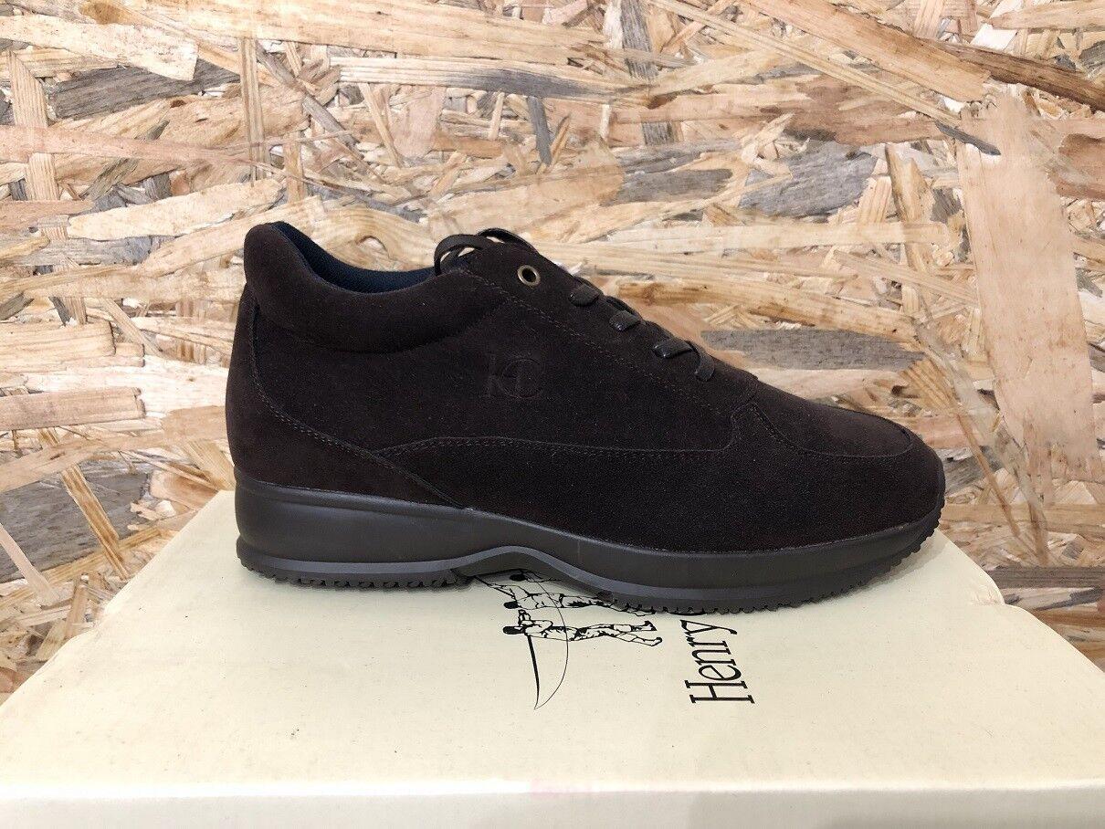 Henry Cottons Zapatos Yute ST172.M.269 ORIGINALES INVIERNO - Marrón Retail