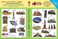 Amazing Designs Embroidery Machine Designs Cd - Wonders Of The World
