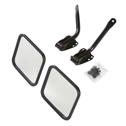 Smittybilt  Side Mirrors Pair for Jeep CJ Wrangler YJ 1955-1995 7617 Black