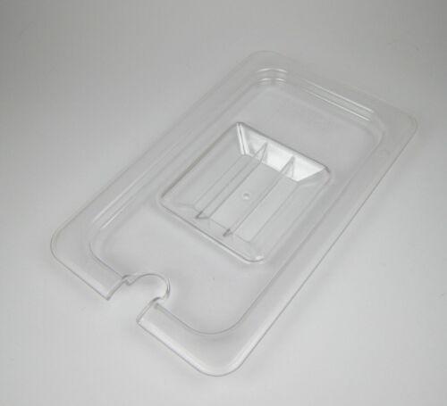 Kunststoff GN 1//4 Gastronormbehälter GN-Behälter Deckel Einkerbung Gastronorm