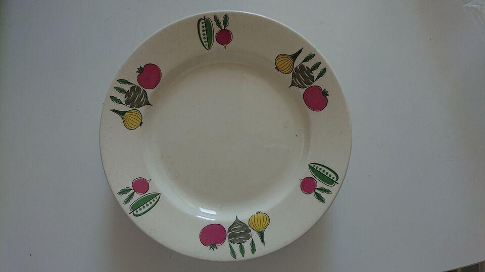 Porcelæn, Tallerkener, Tyske