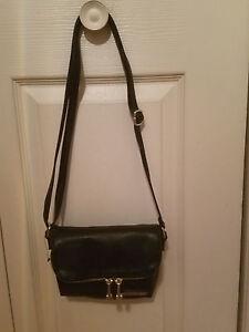 7c3db4027 KENNETH COLE REACTION WOMENS BLACK FOLD OVER MINI CROSS-BODY BAG ...