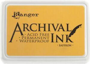 Ranger-Archical-Ink-Permanent-Waterproof-Ink-Pad-Saffron