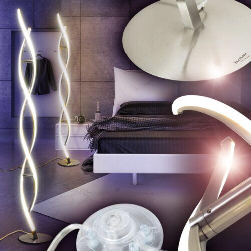 LED Stehleuchte Design Wohn Zimmer Lese Licht Lampe Boden Leuchte Flur Stehlampe