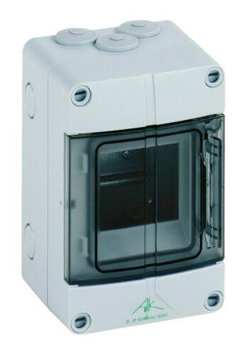 AK03 Spelsberg Kleinverteiler Aufputz 1x3TE Kunststoff IP65 100x96x150mm DIN..