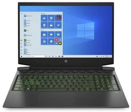 """HP Pavilion Gaming Laptop 16.1""""FHD i7-10750H 8 256GB SSD GTX 1650 Ti 16-a0046nr"""