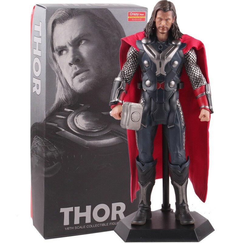 Crazy Toys Marvel Legends Thor PVC Action Figure Collectible Model Toy