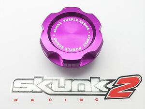 SKUNK2-PURPLE-BILLET-ENGINE-OIL-CAP-HONDA-ACCORD-CIVIC-CRV-JAZZ-INTEGRA-S2000