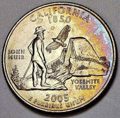 2005 P California State Quarter Choice Uncirculated