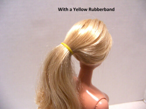 Many uses 100 Doll Hair Styling Barbie or any Doll Small Ponytail Rubber Bands