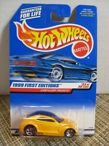 1999 First Editions HOT WHEELS CHRYSLER PRONTO #23